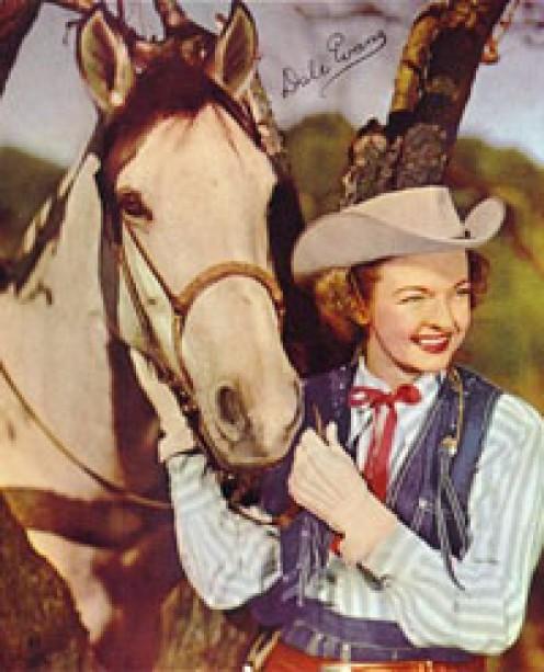 Dale Evans' horse Buttermilk.