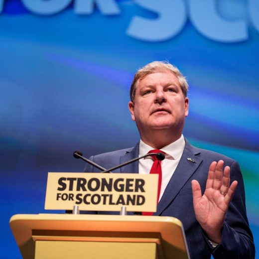 Scottish National Party leader at Westminister and whose seat could be under threat from the Conservatives:  Angus Robertson