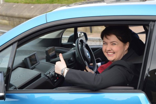 Hoping to drive more MSP's into the Scottish Parliament:  Ruth Davidson