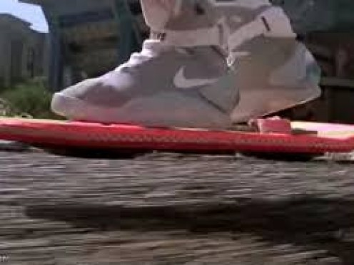 Hoverboards will be come but shoes will also be able to hover and fly slightly above the ground by 2028.