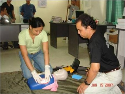 AED Orientation and training