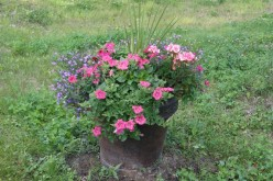 4 Fabulous Flower Containers, For Inside Or Out