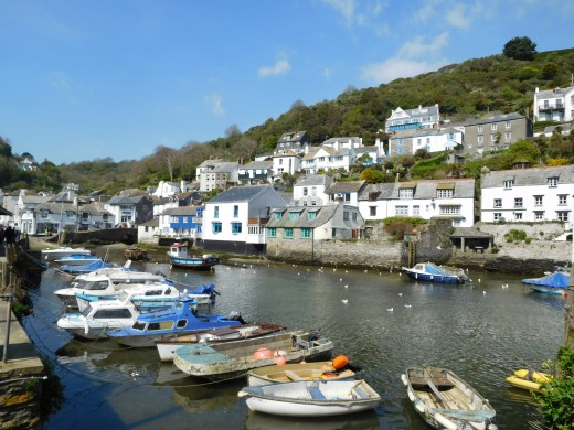 Beautiful Polperro, England