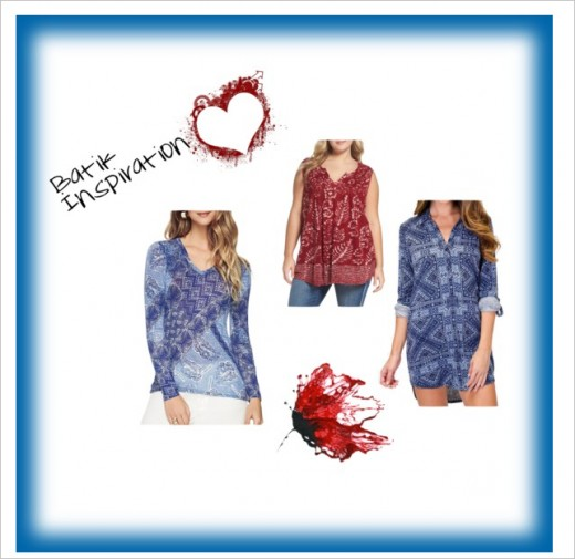 Relaxed Style BatikTops for a vacation