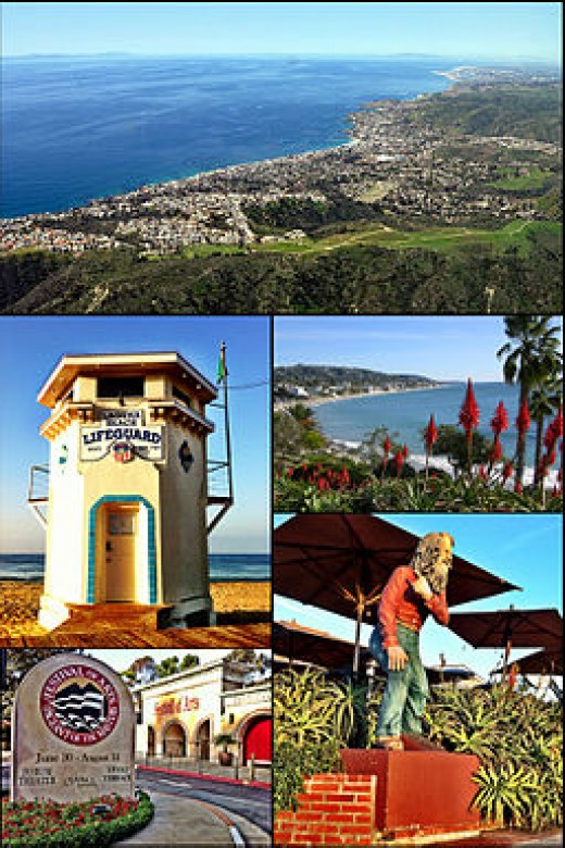 Festivals year round, Laguna Beach also has 3 sister cities Menton France; San Jose, del Cabo, Mexico; St. Ives, United Kingdom
