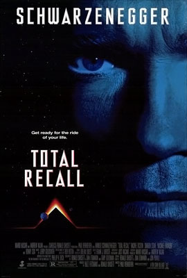 Poster for the original Total Recall.