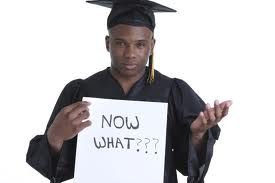 After you graduation, you start to feel a little lost. You can talk to somebody like a counselor or therapist.