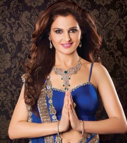 Indian actress Monica Bedi
