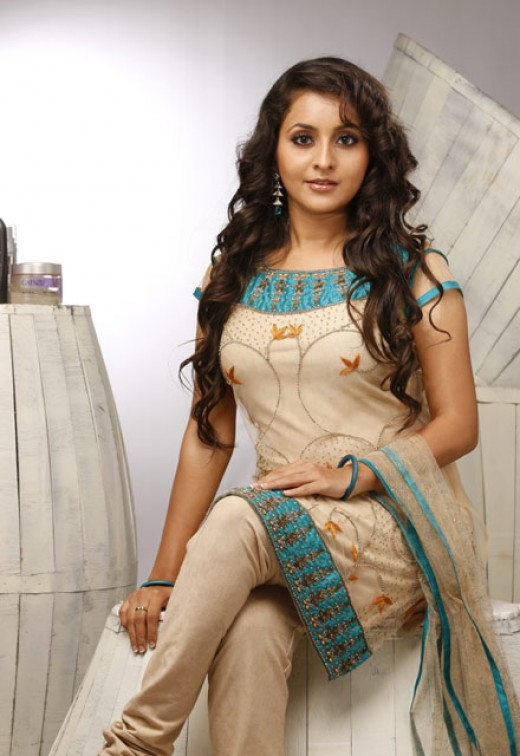 Indian actress Bhama