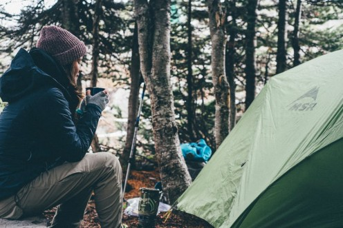 Talk about great moments. Nothing can compare with that first cup of coffee in the mornings on your camping trip.