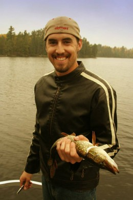 Northern pike on a northern Minnesota lake.