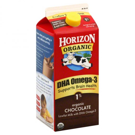 DHA enriched milk is a kid friendly food