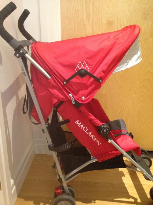 The Maclaren Triumph is the best lightweight stroller for travel.