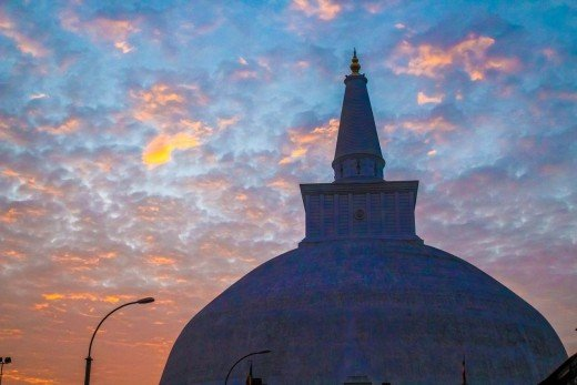 A beautiful stupa in Nepal