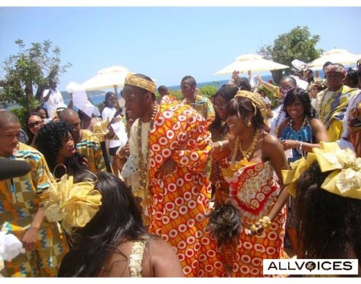 Mode of Marriage Ceremony in Africa