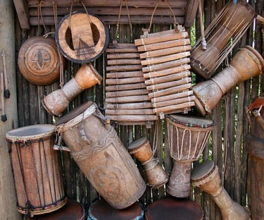 African Traditional Drums