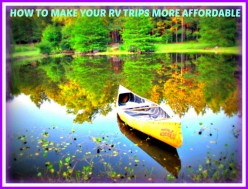Easy Ways to Save Money When RVing