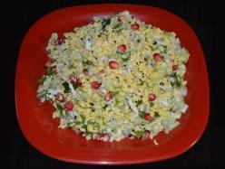 Salad Recipes: Green Gram (Mung Bean)  and Cucumber Salad