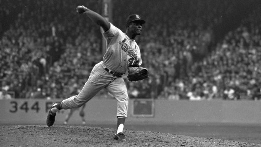 Bob Gibson won two games and was named MVP.
