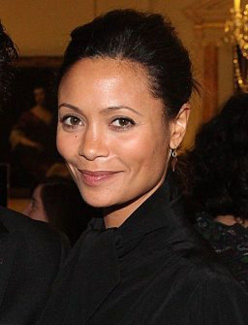 Thandie Newton starred as Dame Vaako in the Chronicles of Riddick (2004)