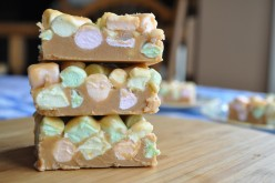 Easy, Creamy, Peanut Butter Marshmallow Squares