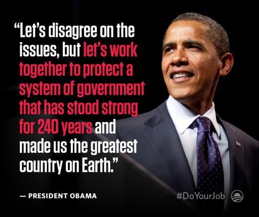 Former US President:  Barack Obama