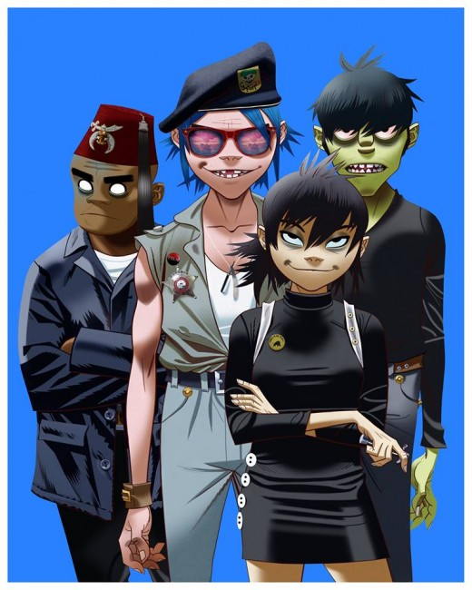 Humanz Tour 2017 Promo Picture