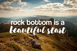 When We think We Reached Rock Bottom
