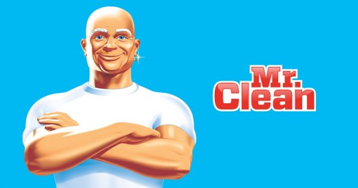 Mr. Clean is a brand name and mascot fully owned by Procter & Gamble