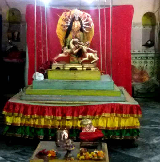 Patita Pabani Durga idol; Bhukailash Rajbari