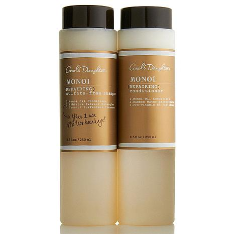 Carol's Daughter Monoi Repairing Shampoo and Conditioner Duo
