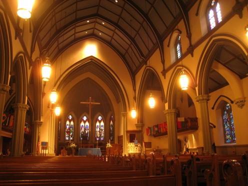 Trinity Chapel in First Presbyterian Church