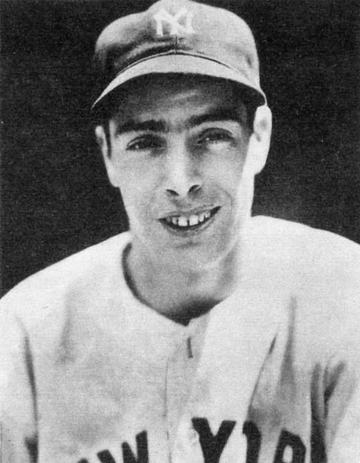 Joe DiMaggio in 1939, a year when he struck out only 20 times.