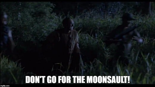 The Lost World: Jurassic Park meets the ill fated moonsault attempt!