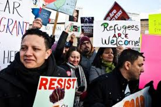 Immigrants are strongly against Trump's policies which sparked hate and encouraged racism