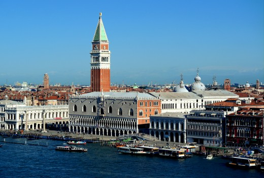 View towards San Marco and Palazzo Ducale