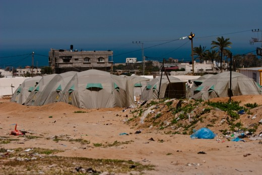 Gaza tent camp