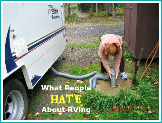 Most RVers hate having to do the job of dumping and cleaning their sewer tanks.