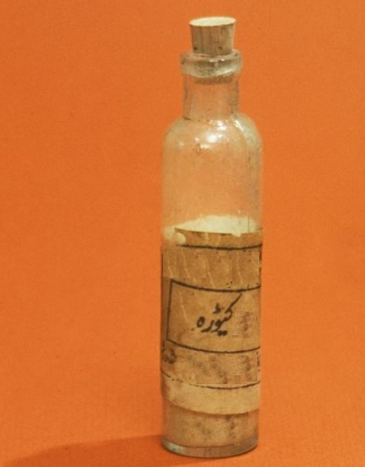 A medicine vial