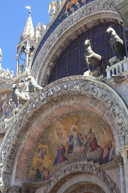 Detail from the Front Arch of St Mark's Basilica