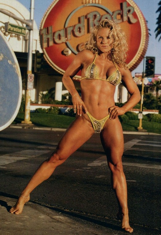Monica Brant - IFBB professional figure competitor and former fitness competitor.