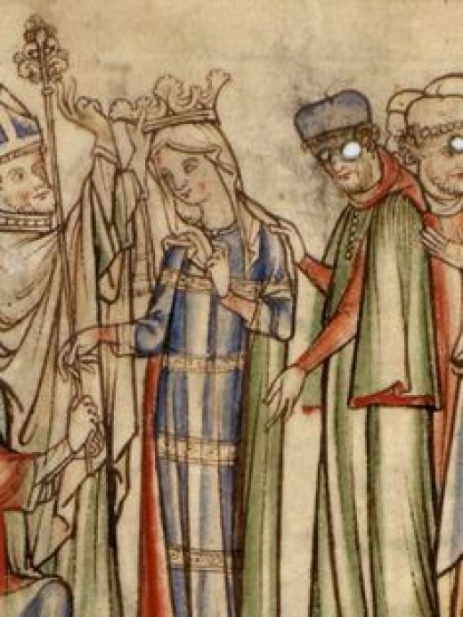 Eadgytha, daughter of Earl Godwin and Gytha Thorkelsdatter, Eadward's queen and widow (AD 1025-75)
