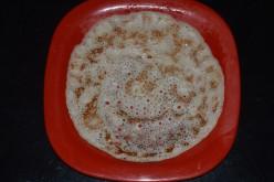 Healthy Breakfast: Sweet Banana Pancake or Banana Dosa Recipe