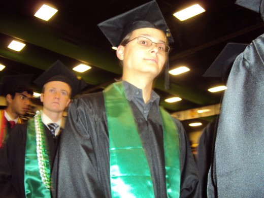 Grandson Stephen H. Jasper after his graduation with his UVU Associate Degree from UVU this month.  He graduates from high school in two weeks.