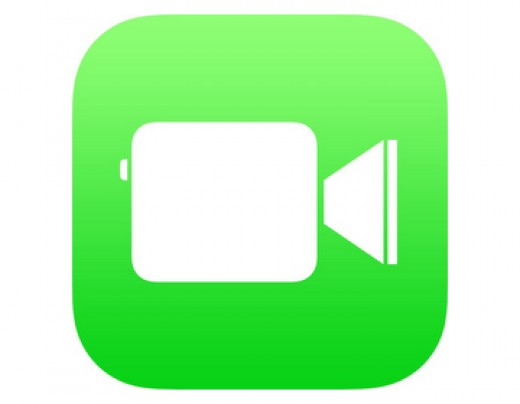 What the Facetime app looks like for iphone