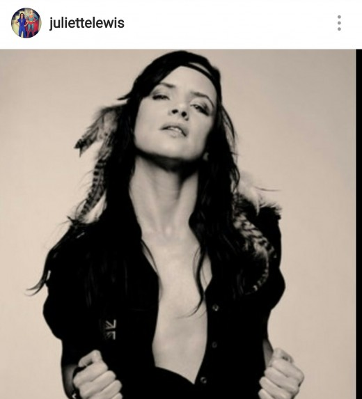 Lewis is on Instagram @juliettelewis