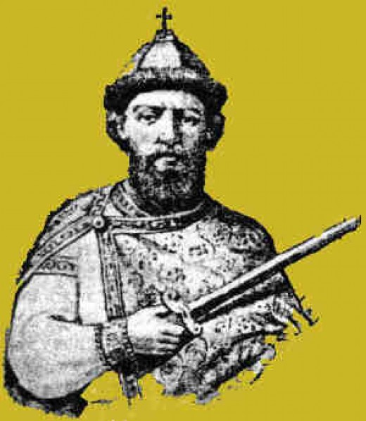 Mstilav Harold, Grand Prince of Kiev from AD 1125