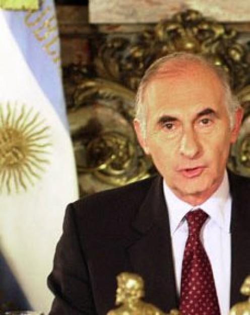 President Fernando de la Rua
