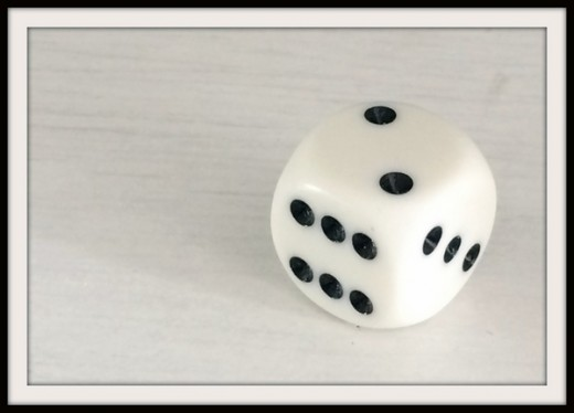How to make your own dice if you don't have one to hand!
