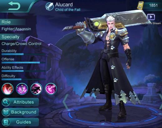 Alucard, Copyright Moonton